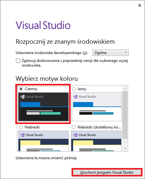 visual studio 2017 community instalacja IDE installation