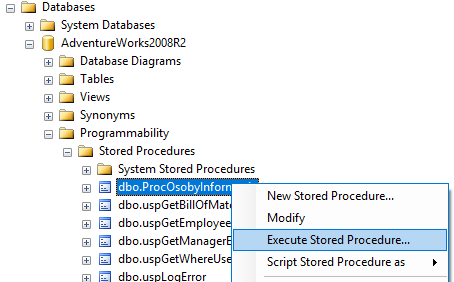 t-sql sql server procedury składowane stored procedures